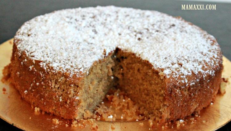 torta, yogur, natural, fácil, receta