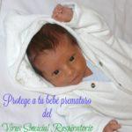 Protege a tu bebé del virus respiratorio