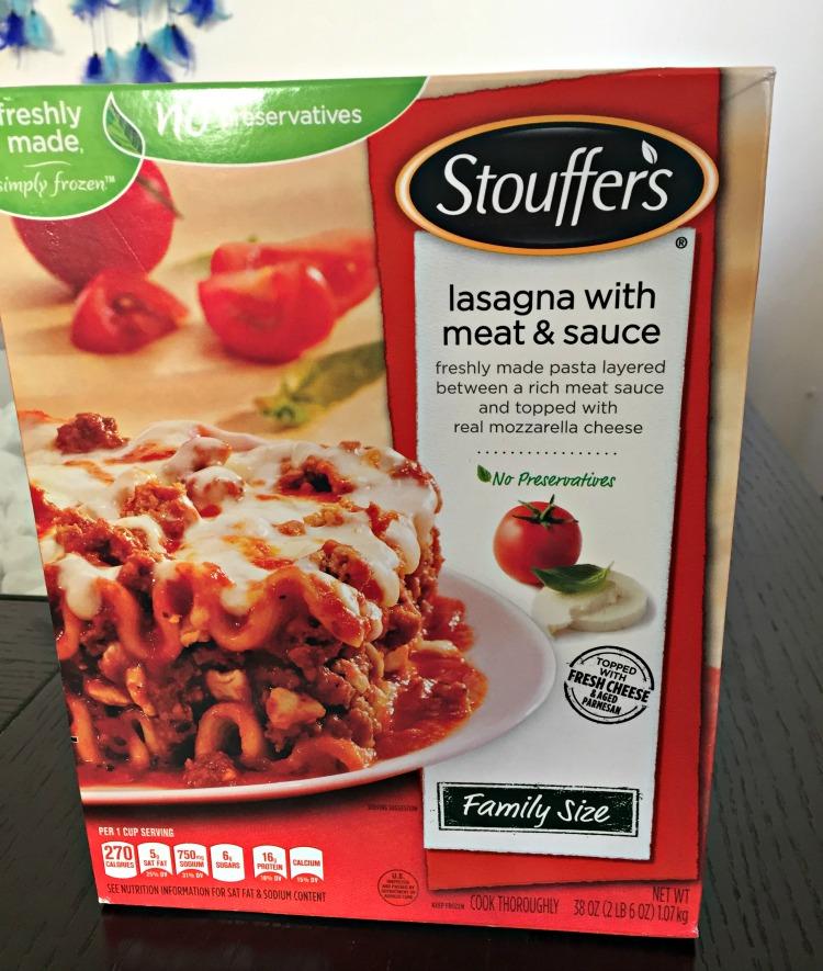 lasagna, comida rápida, comida congelada