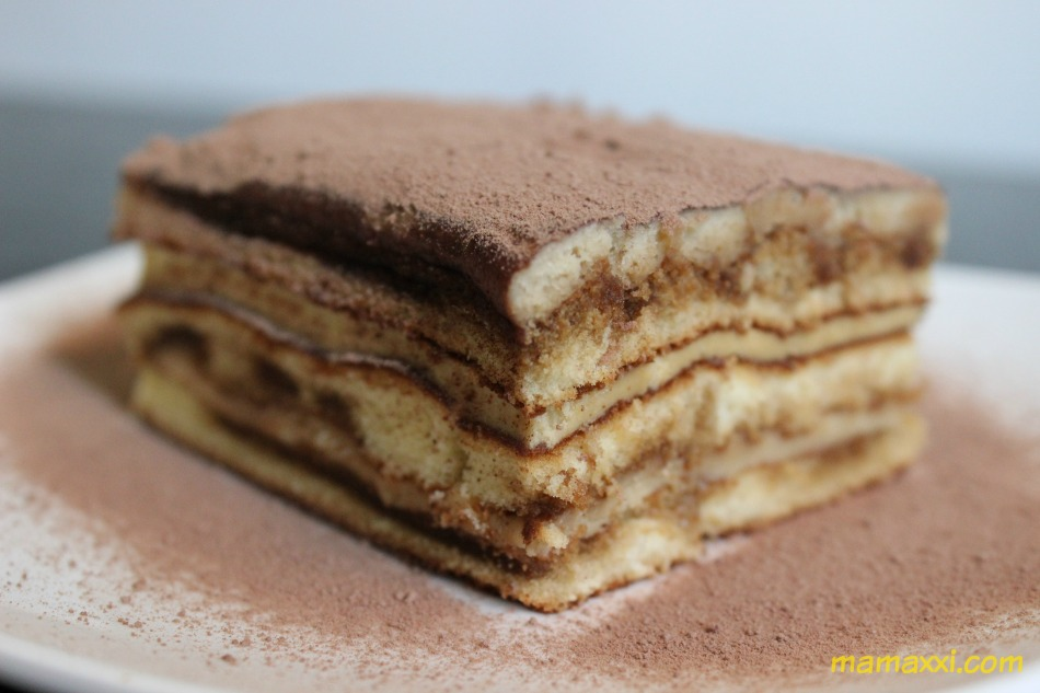 receta, chocolate, leche, tiramisú, torta, fácil
