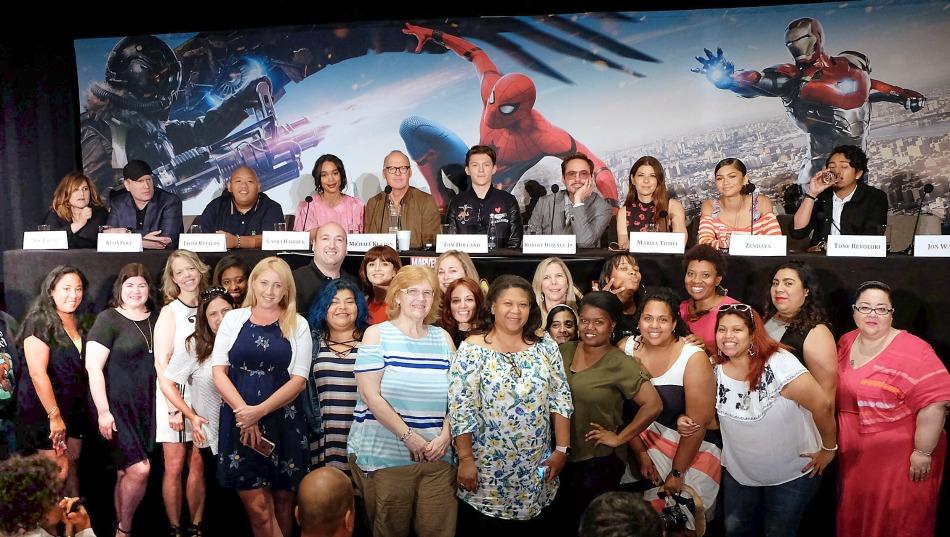 spiderman, bloggers, influencers, movie, película