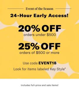 Ofertas de fin de temporada en Shopbop