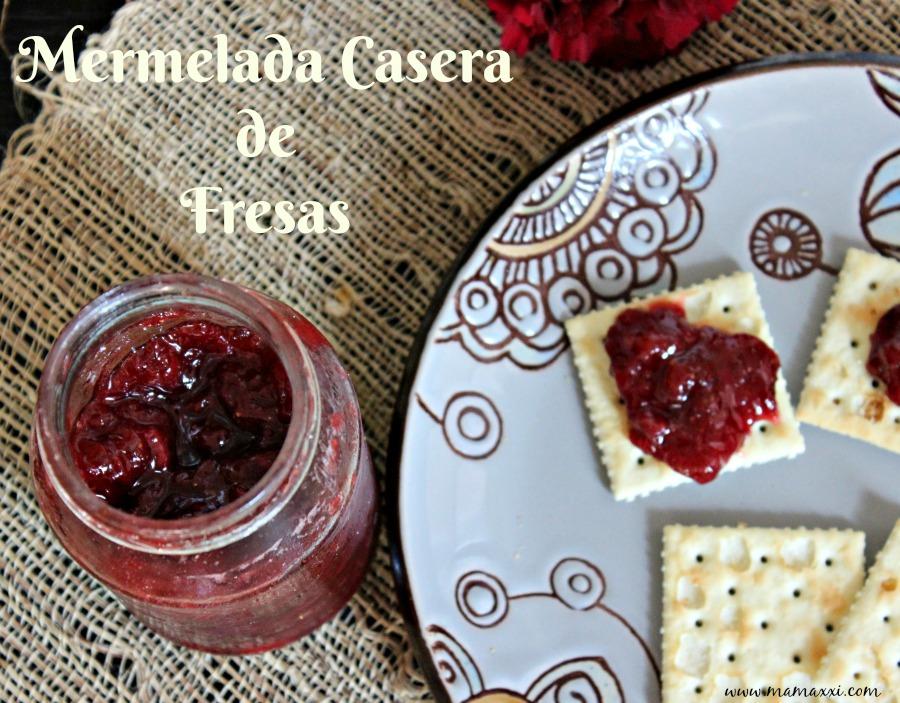 frutillas, receta, mermelada, dulce de fresa