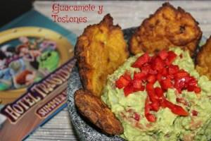 Guacamole, Tostones y Películas (receta)