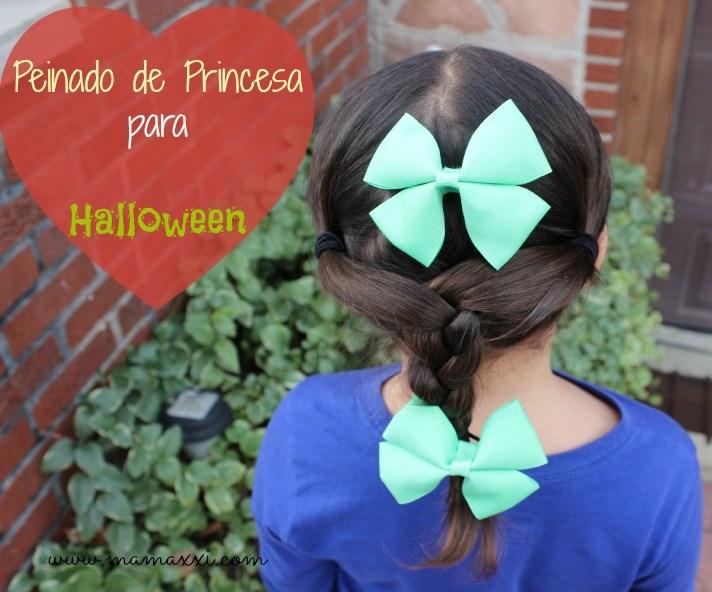 halloween, princesa, peinado