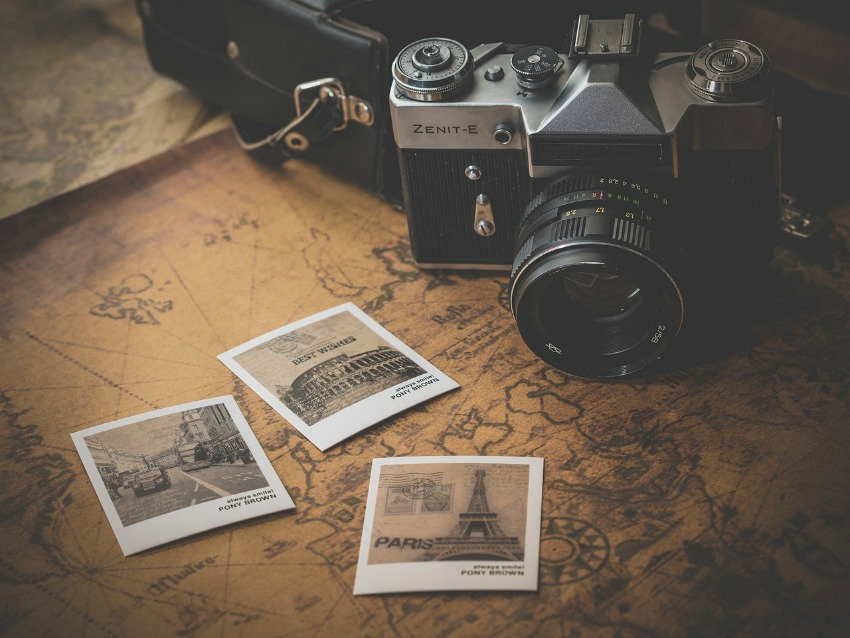 traveling, tips to travel, pictures, old camera, old map