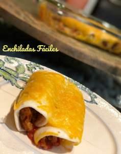 enchiladas, receta, comida, mexicana