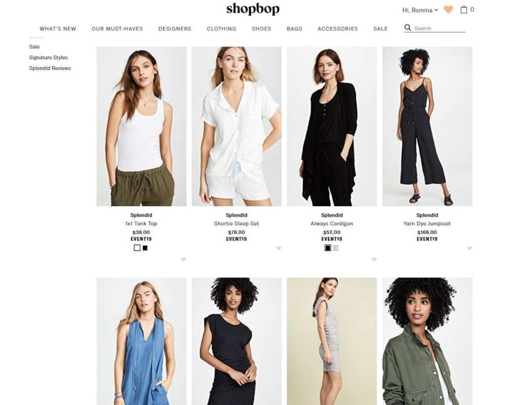 splendid, designer, shopbop, women fashion