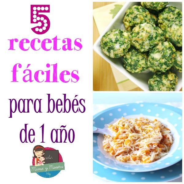5 comidas para beb s de 1 a o mam y maestra - Comidas para bebes de 5 a 6 meses ...