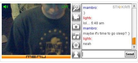 chatta in webcam