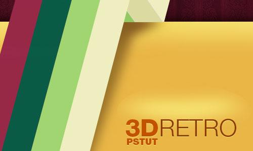 3D Retro Strip