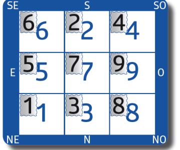 Étoiles volantes mensuelles – Décembre 2020, mois du Rat de Terre – Wu Zi 戊子 (du 7 décembre 2020 au 4 janvier 2021)