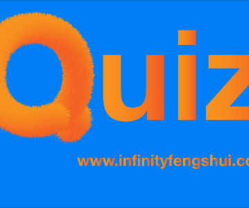 Quiz time : Feng Shui is…