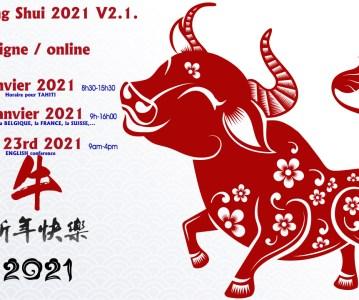 L'Actu Feng Shui 2021 – V2.1 Conférences en Ligne pour l'EUROPE et la POLYNESIE FRANCAISE
