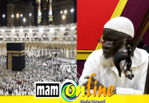 """THE LION OF QURAN TAFSEER"" Sheikh Mahmud  Yeboah Afari has been favored by Allah to be part of this year's hajj pilgrims."