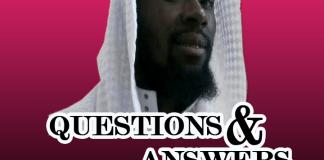 QUESTIONS & ANSWERS - NUAMAH ALHAJ MUSAH JNR