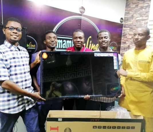 b musah donates tv to mam online