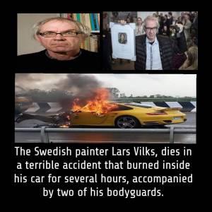 Swedish cartoonist Lars Vilks