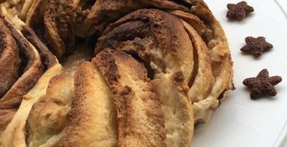 KRINGLE DE NOCILLA, una receta dulce y con forma original