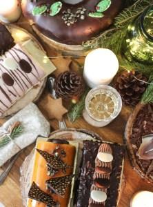 composition noel desserts