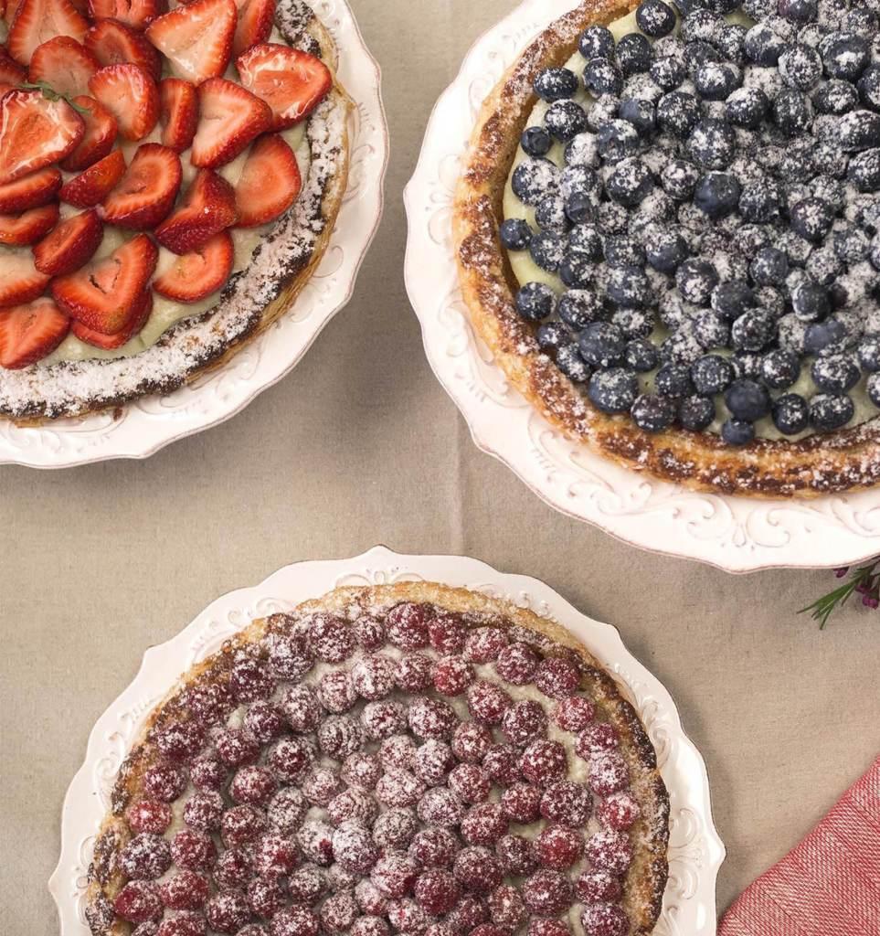 Les 3 tartes