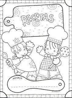 Libro de recetas para niño casero. Parte 1º Las recetas.