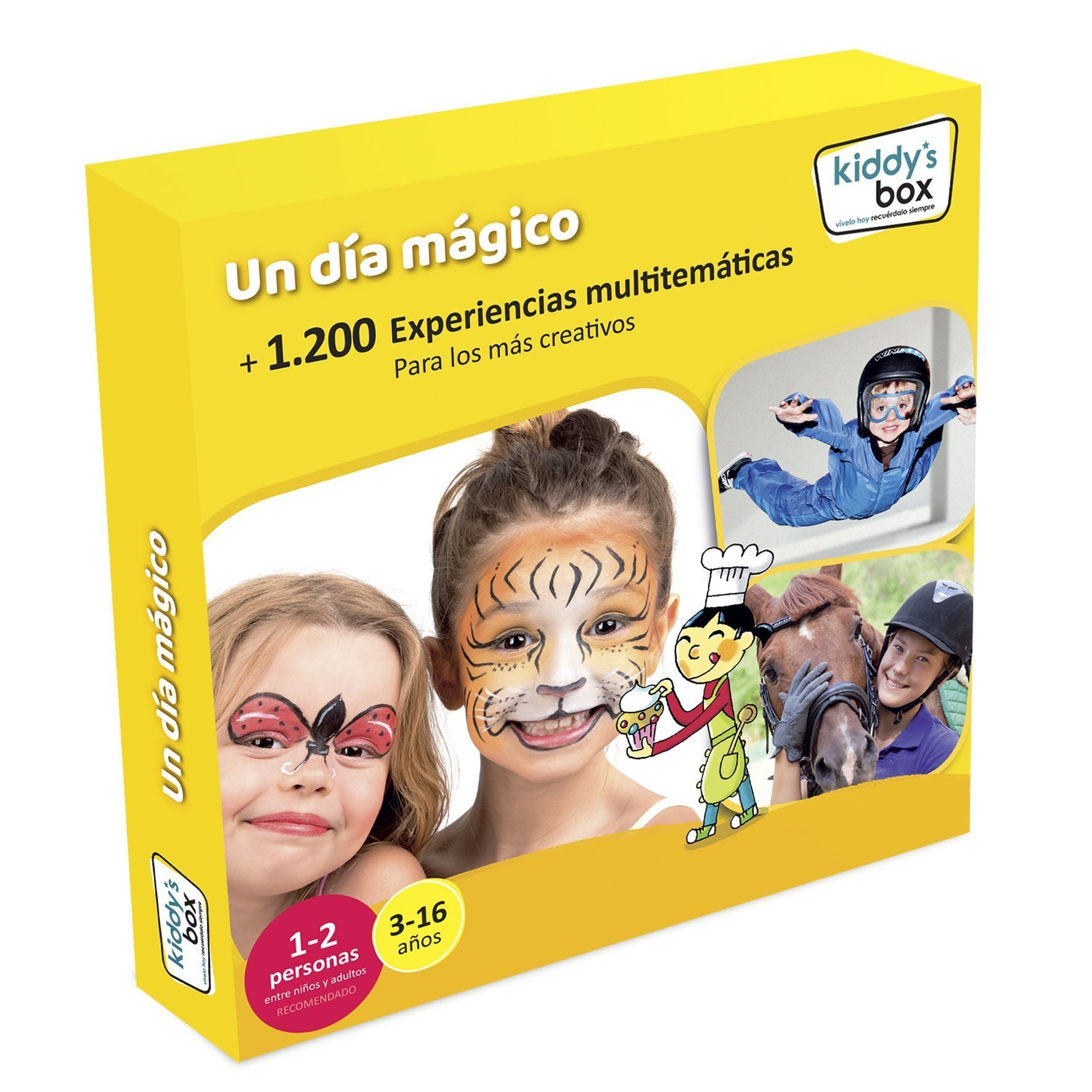 Kiddy´s box, un regalo para niños y familias.