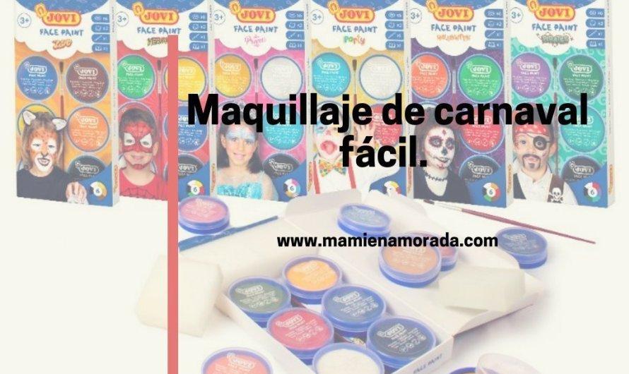 Maquillaje de carnaval fácil.