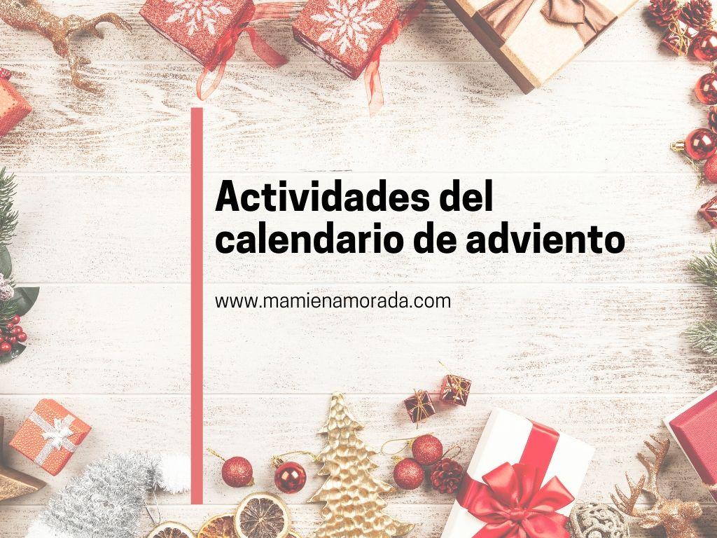 actividades del calendario de adviento