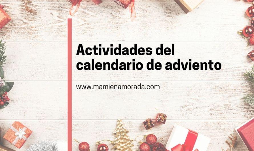 Resumen  de actividades del calendario de adviento.