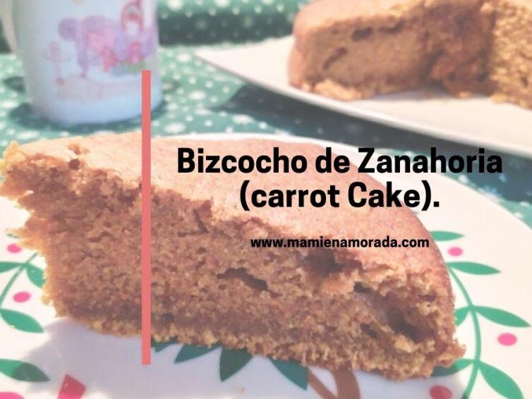 Bizcocho de Zanahoria (carrot Cake).