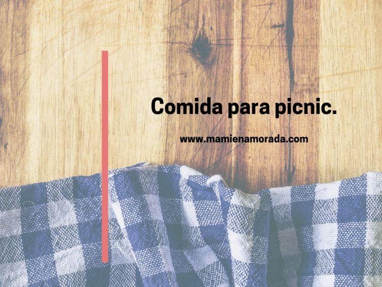 Comida para pícnic.