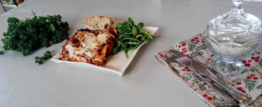 lasagnes fondantes aux légumes