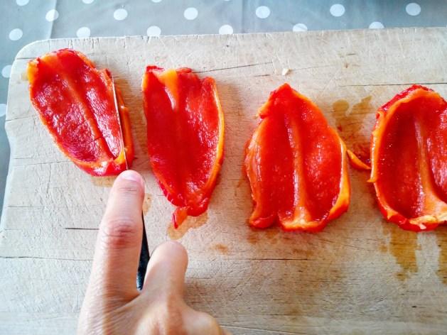 comment éplucher les poivrons