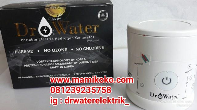 Jual Dr Water Electric, Dr Water Alkastone, New Dr+Water di Jakarta, Botol Terapi Diabetes dan Kanker