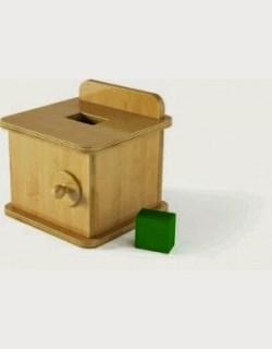 El juego de los 6 a 12 meses pedagog a montessori mamilatte - Caja madera ikea ...