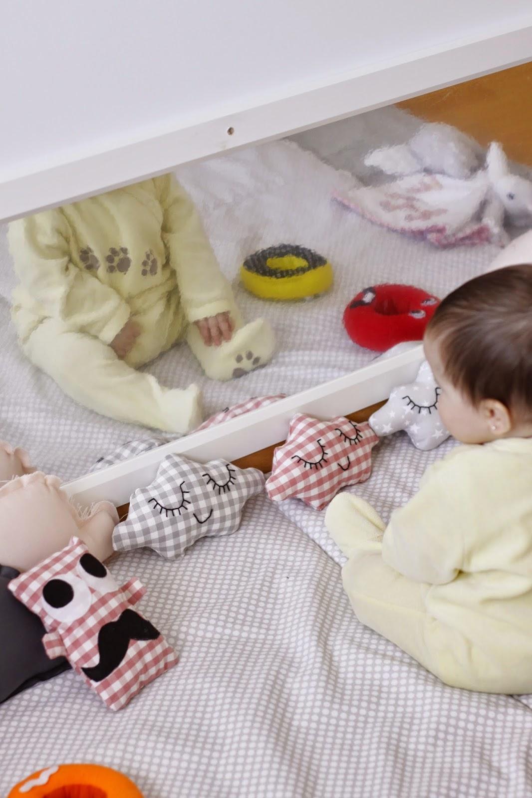 La importancia del espejo y como hacer un espejo de for Espejo seguridad bebe