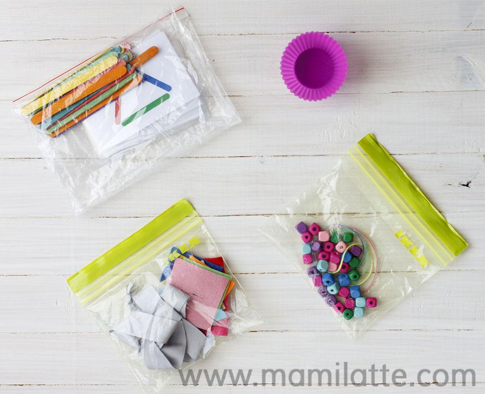 Mamilatte Recursos De Juego Para Viajes 3 5 Anos Montessori