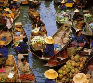 Thai Sea Market from Hotel in Krabi