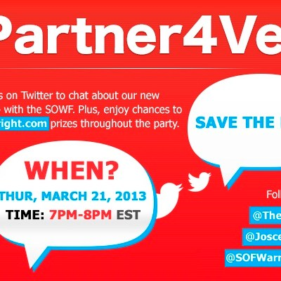 @TheBright and @SOFWarriorFnd #Partner4Vets Twitter Party