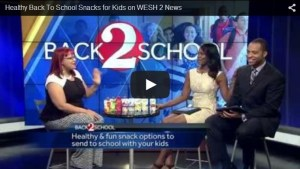 BACK TO SCHOOL SNACKS AS SEEN ON WESH 2 NEWS NBC