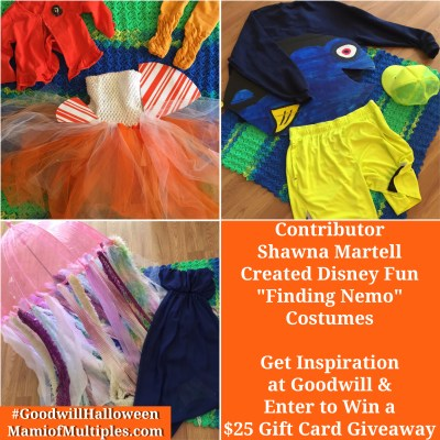 Get Creative with DIY Halloween Costumes at Goodwill (+ $25 Gift Card Giveaway)