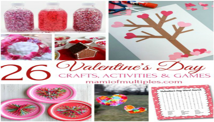 26 Valentine's Day Crafts and Activities for Kids