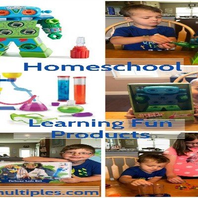Homeschool Learning Fun Products: Primary Science Deluxe Lab Set and Design & Drill Robot