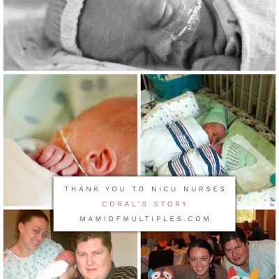 A Mom's Birth Story: Saying Thank You to NICU Nurses