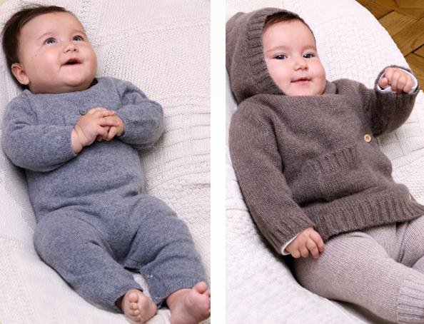 Les tricots de Margot, moda para bebés