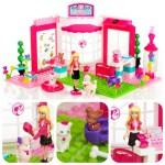 Juguetes de construcciones: Megablocks de Barbie