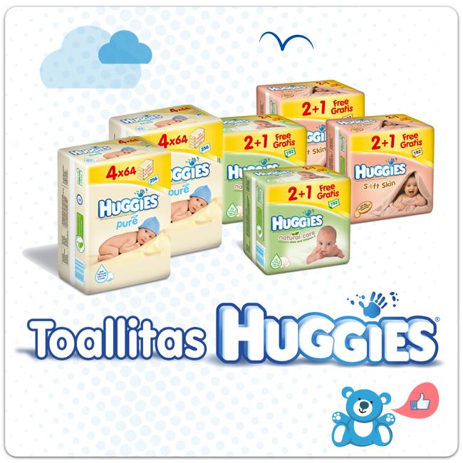 La suavidad de las toallitas Huggies