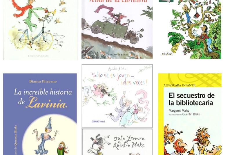 Los libros infantiles de Roald Dahl Quentin Blake
