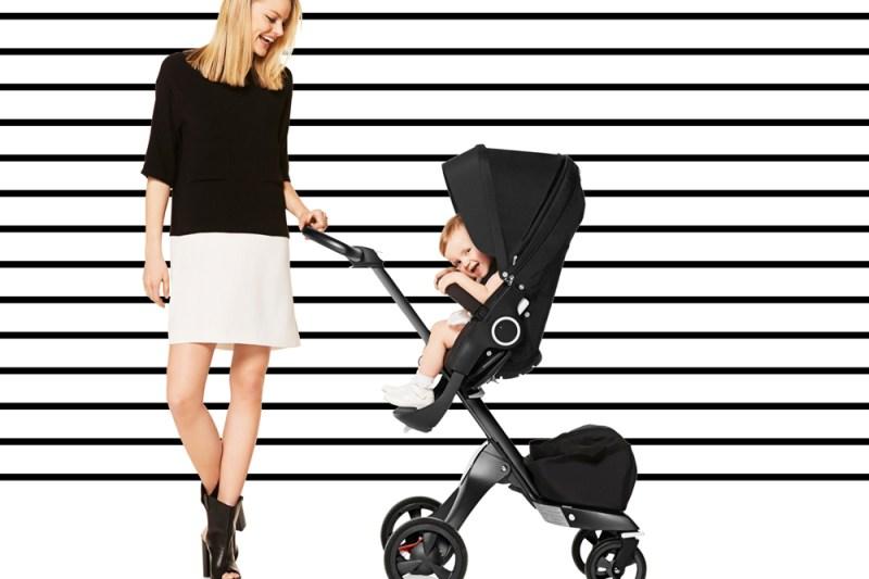 El lado menos glamouroso de llevar carrito de bebé